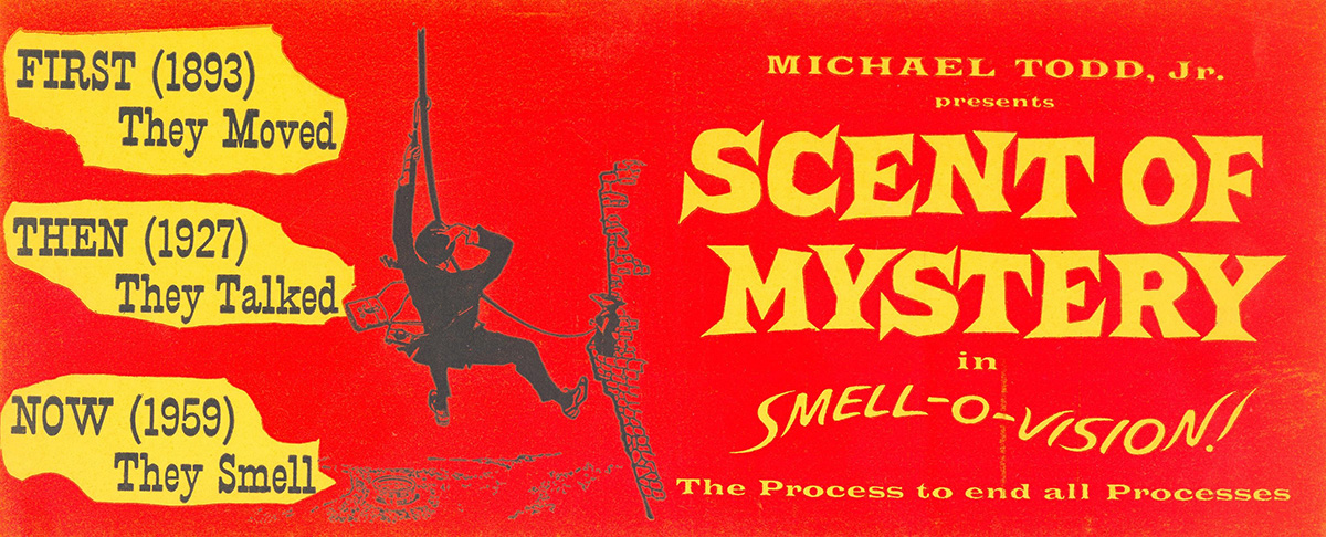Advertisement for Scent of Mystery