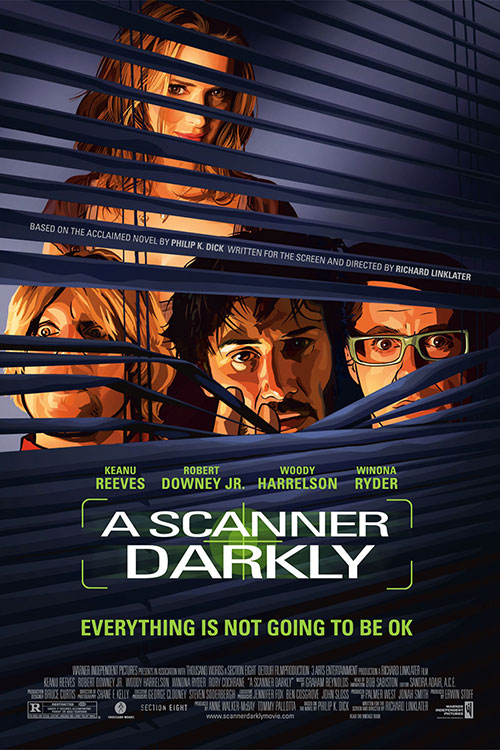 A Scanner Darkly Cover Image