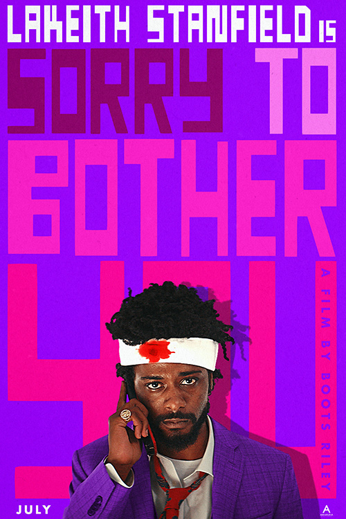 Sorry to Bother You Cover Image